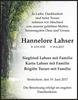 Hannelore Lahser