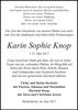 Karin Sophie Knop