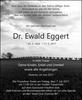 Dr. Ewald Eggert