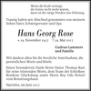 Hans Georg Rose