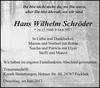 Hans Wilhelm Schröder