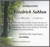 Friedrich Sabban