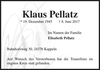 Klaus Pellatz