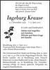 Ingeburg Krause