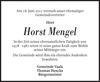 Horst Mengel