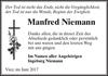 Manfred Niemann