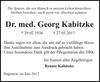 Dr. med. Georg Kabitzke
