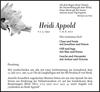 Heidi Appold