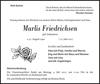 Marlis Friedrichsen