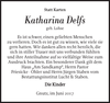 Katharina Delfs