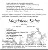 Magdalene Kalus