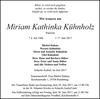 Miriam Kathinka Kühnholz