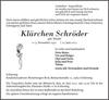 Klärchen Schröder