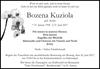 Bozena Kuziola B