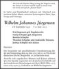 Wilhelm Johannes Jürgensen
