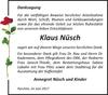 Klaus Nüsch