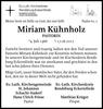 Miriam Kühnholz