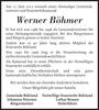 Werner Böhmer