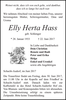 Elly Herta Hass