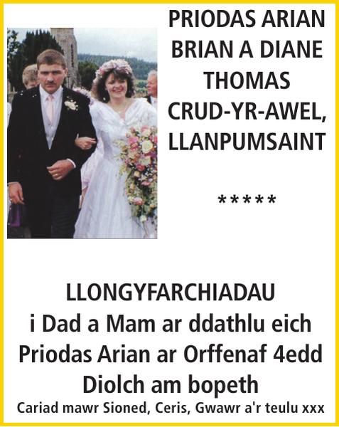 PRIODAS ARIAN : Anniversary