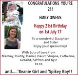 YOU'RE EMILY OWENS : Birthday