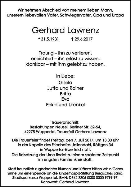 Gerhard Lawrenz