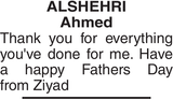 ALSHEHRI Ahmed : Father's day