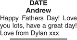 Andrew : Father's day