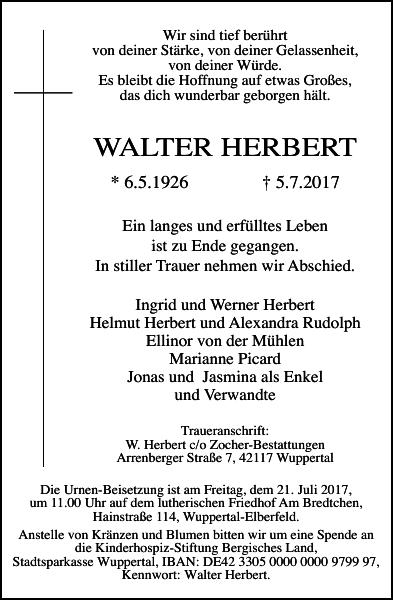WALTER HERBERT