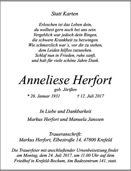 Anneliese Herfort