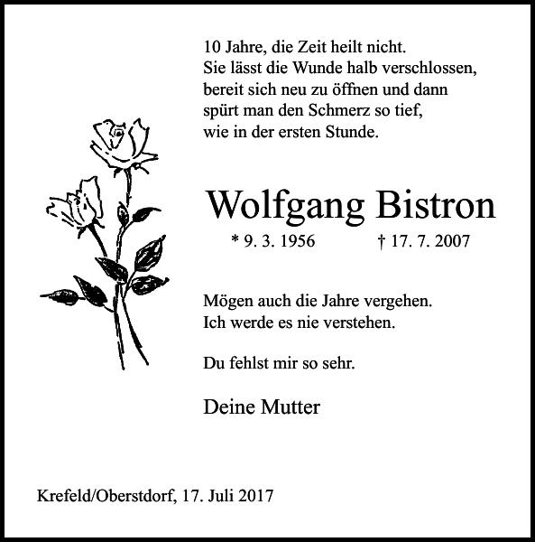 Wolfgang Bistron