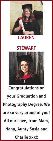 LAUREN STEWART : Exam Results