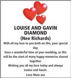 LOUISE : Wedding