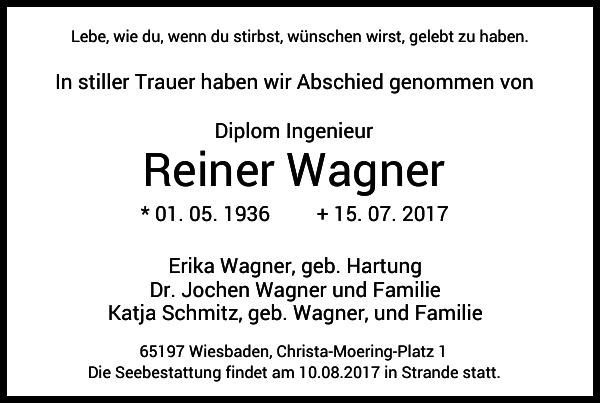 Reiner Wagner
