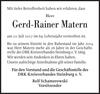 Gerd-Rainer Matern
