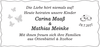 Carina Maaß Mathias Meinke