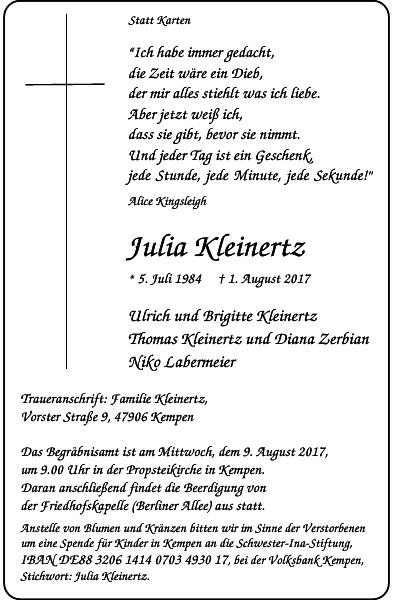 Julia Kleinertz
