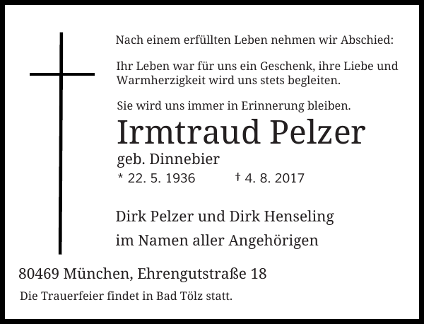 Irmtraud Pelzer