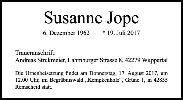 Susanne Jope