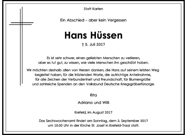 Hans Hüssen