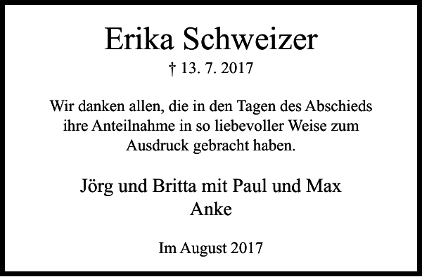 Erika Schweizer