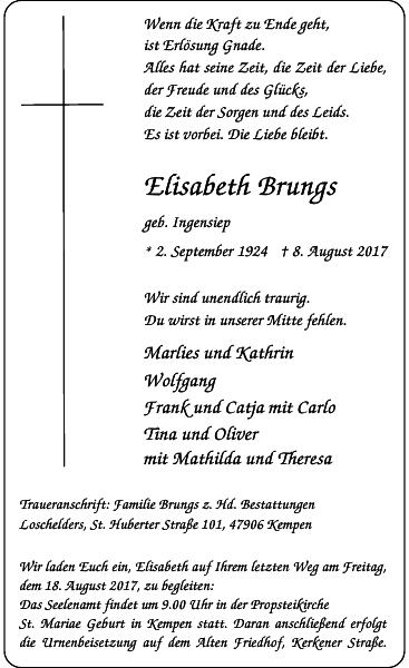 Elisabeth Brungs