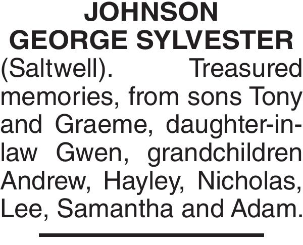 JOHNSON GEORGE