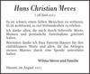 Hans Christian Meves