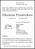 Christian Friedrichsen