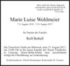 Marie Luise Wohlmeier