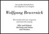 Wolfgang Bewernick