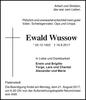 Ewald Wussow