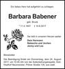 Barbara Babener