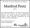 Manfred Peetz